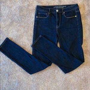 High rise skinny AE jeans